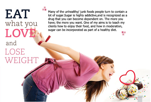 Eat what you love and lose weight