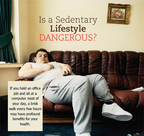 Is a Sedentary Lifestyle Dangerous
