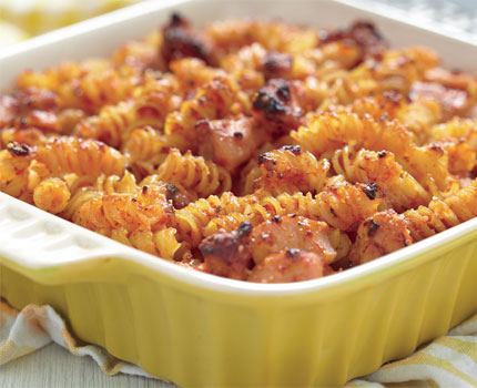 Baked Macaroni With Red Sauce