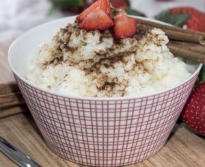 Fruited Rice Pudding