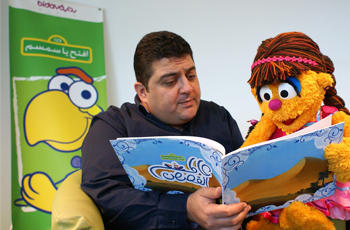 New Iftah Ya Simsim Muppet, Shams, to make first public appearance during Abu Dhabi International Book Fair