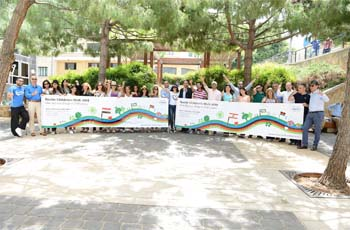 Roche Middle East employees unite to raise funds for children in need