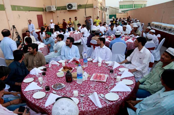 Ramada Ajman and Beach Hotel reach out to labour camps