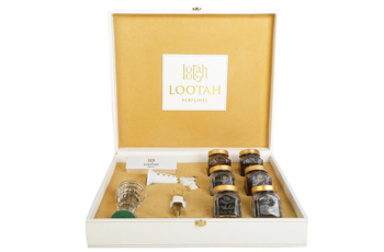 Revere the beauty of deluxe Incense and Oud with the collector's edition incense set by Lootah Perfumes