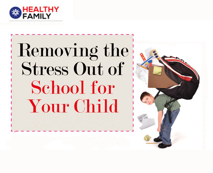 Removing the Stress Out of School for Your Child