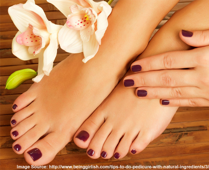 Tips to Do Pedicure with Natural Ingredients