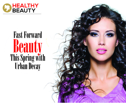 Fast Forward Beauty This Spring with Urban Decay