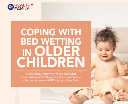 Coping with Bed Wetting in Older Children