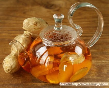 Refreshing Ginger Iced Tea To Counter Inflammation
