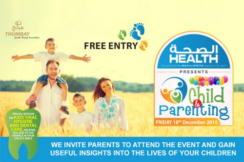 "HEALTH Magazine to Conduct ""Child & Parenting"" Event at Thumbay Hospital Dubai on December 18"