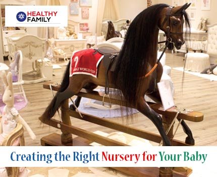 Creating the Right Nursery for Your Baby