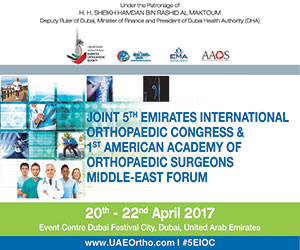 Joint 5th Emirates International Orthopaedic Congress & 1st American Academy of Orthopaedic Surgeons Middle-East Forum