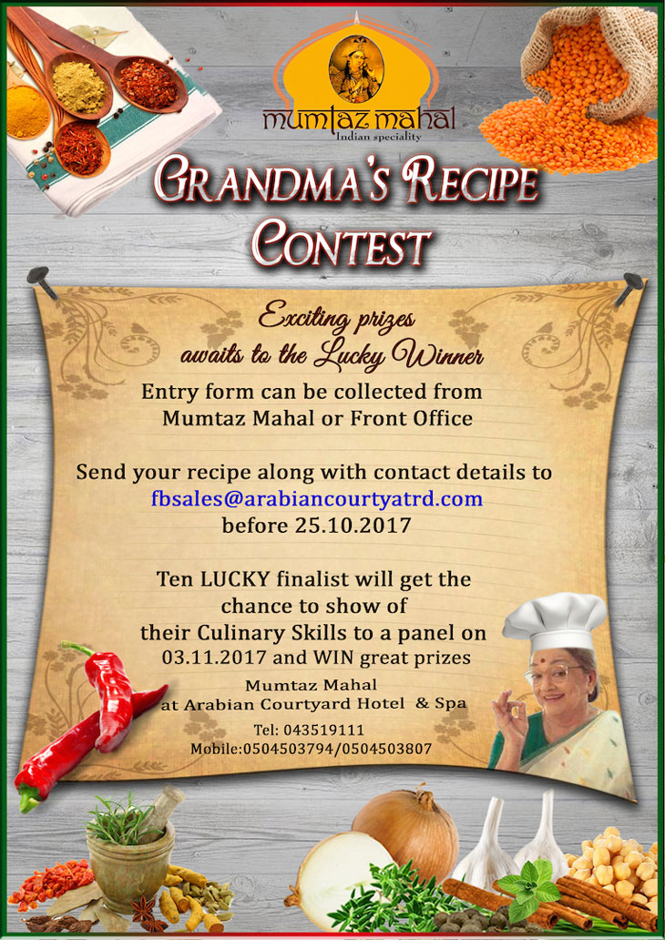 Grandmas recipe competition returns calling on cooking grandma recipe contest forumfinder Choice Image