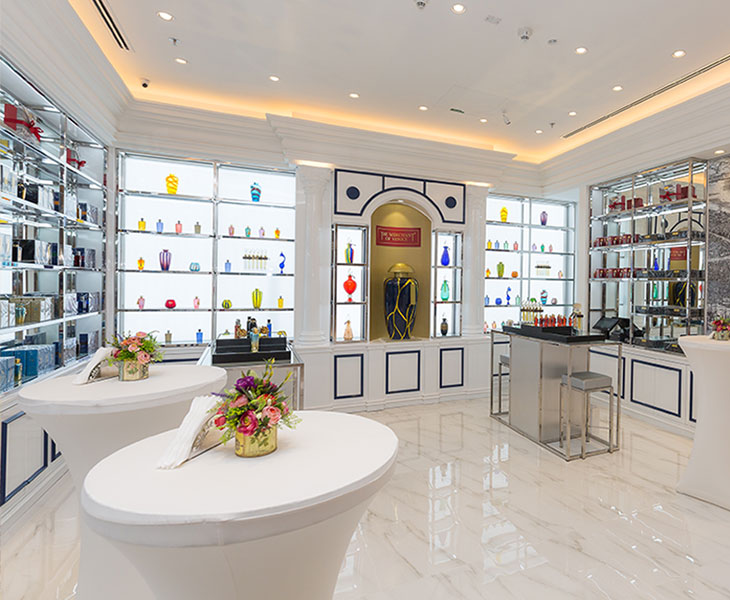 The merchant of venice opens first boutique in the uae at for Boutique article cuisine