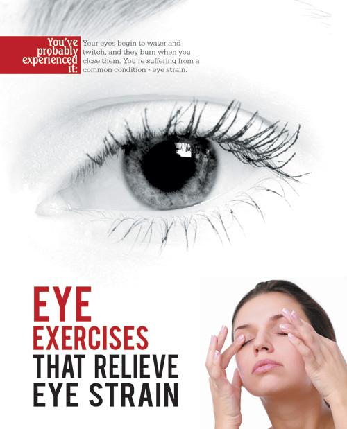 Eye Exercises That Relieve Eye Strain