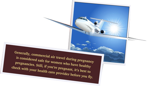 Air travel during pregnancy: Is it safe?