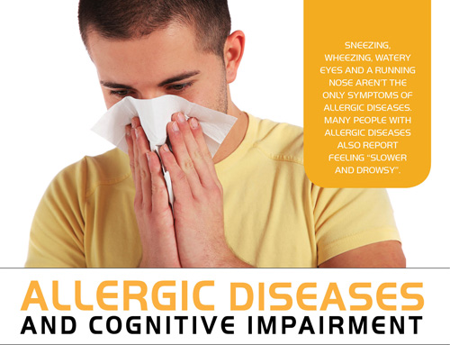 ALLERGIC DISEASES AND COGNITIVE IMPAIRMENT