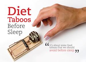 Diet Taboos Before Sleep