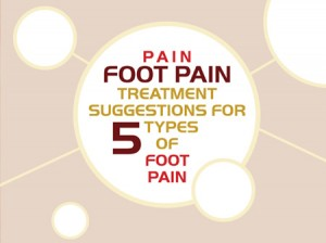 Foot Pain Treatment Suggestions