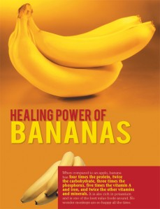 HEALING POWER OF BANANAS