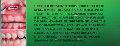 Many Children Suffer From A Condition Called Bruxism