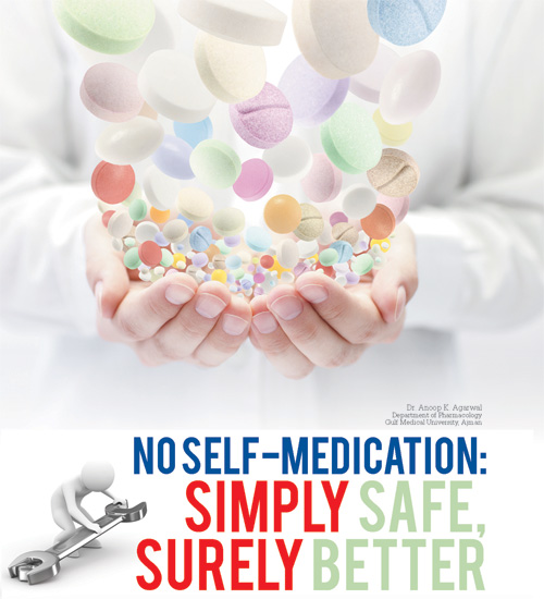 NO SELF-MEDICATION: SIMPLY SAFE, SURELY BETTER
