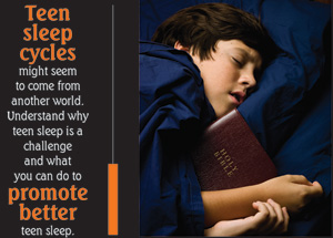 Teen sleep: Why is your teen so tired