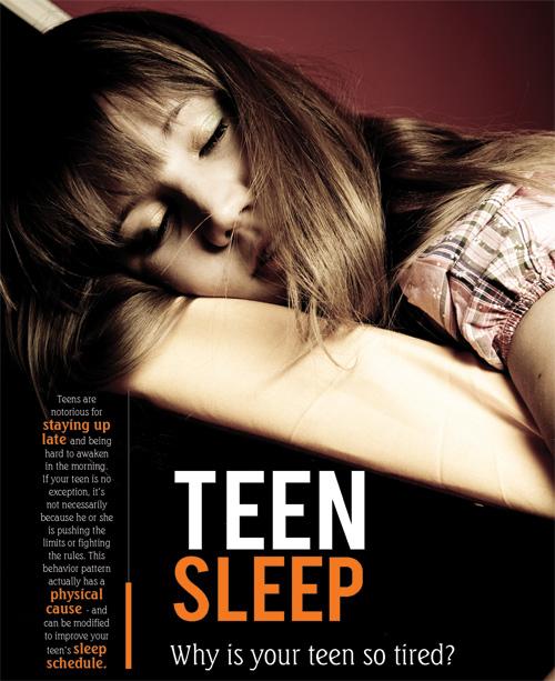 Teen sleep: Why is your teen so tired?