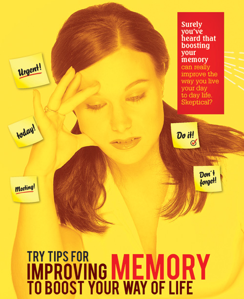 TRY TIPS FOR IMPROVING MEMORY