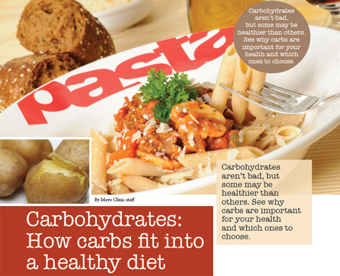 Carbohydrates: How carbs fit into a healthy diet
