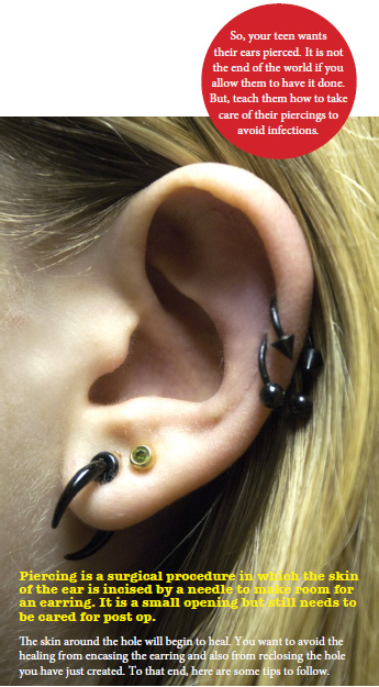 Teenagers Ear Piercings: How to Avoid Infections