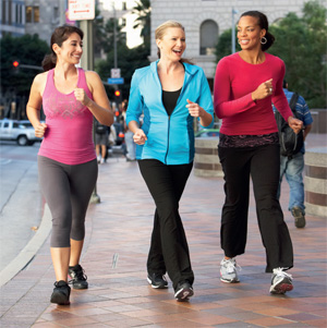 Walking: Trim your waistline, improve your health