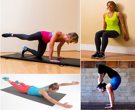 alternate your strength training workout with some yoga