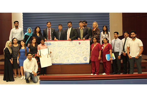SHARJAH SCHOOL HONOURS ZULEKHA HOSPITAL FOR DEDICATION AND CARE TOWARDS HUMANITY