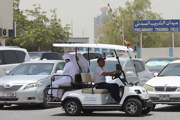 'YOUR CHAUFFEUR IS WAITING' – ZULEKHA HOSPITAL  TREATS PATIENTS TO NEW ARRIVE, DRIVE SERVICE