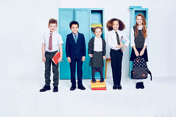 Dubai Uae August 13 2017 Starting School Is A Deal For Kids And The Pas Stock Up New Academic Term With Marks Spencer