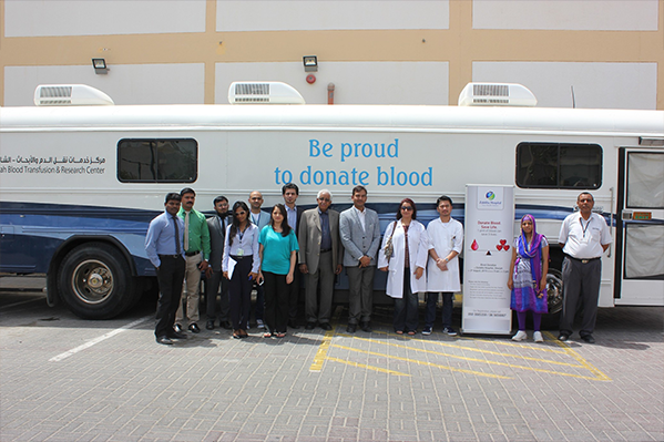 ZULEKHA HOSPITAL SHARJAH RECORDS SUCCESSFUL BLOOD DONATION DRIVE