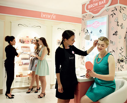 Beauty Experience: Benefit Brow Bar