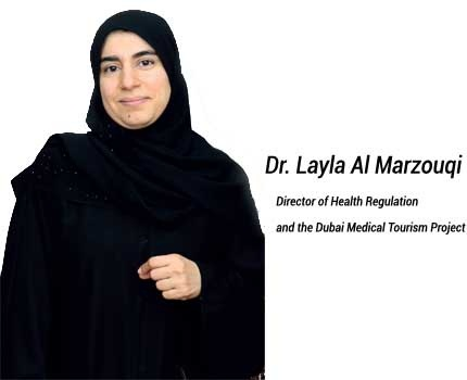 Medical Tourism in Dubai Soars… HEALTH meets with Dr. Layla Al Marzouqi