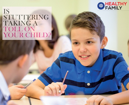 Is Stuttering Taking a Toll on Your Child?
