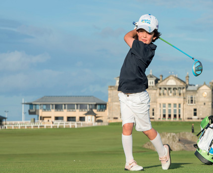 Why Your Kids Should be Playing Golf