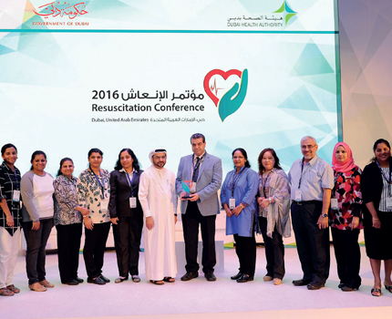 Dubai Health Authority Held Resuscitation Conference
