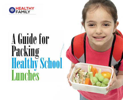 A Guide for Packing Healthy School Lunches