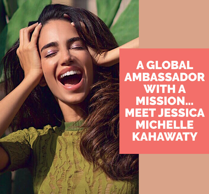 A global ambassador with a mission… meet Jessica Michelle Kahawaty