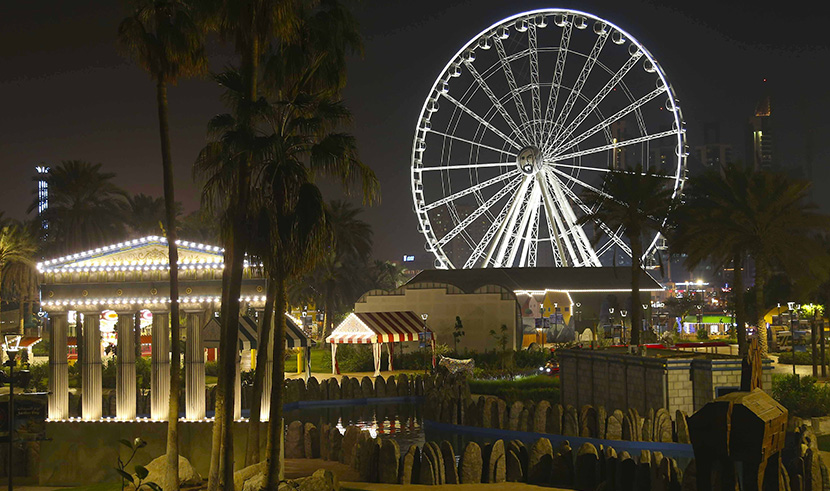 Eye of the Emirates Wheel Celebrates 14th Anniversary at Al Montazah Parks