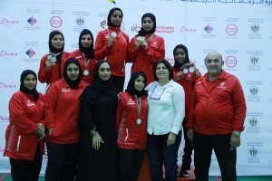 Sharjah Women's Sports Club shooters reign supreme at air pistol and rifle finals