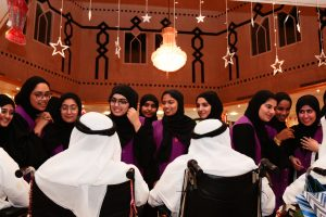 Thirty Members of Sajaya Young Ladies of Sharjah  Share Iftar with the Elderly and Children