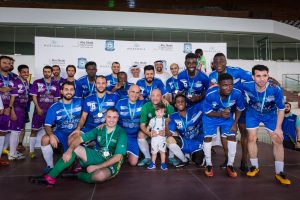 Mubadala and Abu Dhabi Sports Council Celebrate Champions of the Mubadala Community Football League