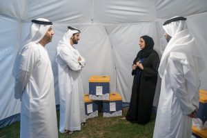 Sultan bin Ahmed Al Qasimi Launches Kan Yama Kan  Book Donation Campaign's fifth Edition