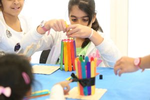 Children Discover the Beauty of Islamic Art and Culture at Sharjah Ladies Club